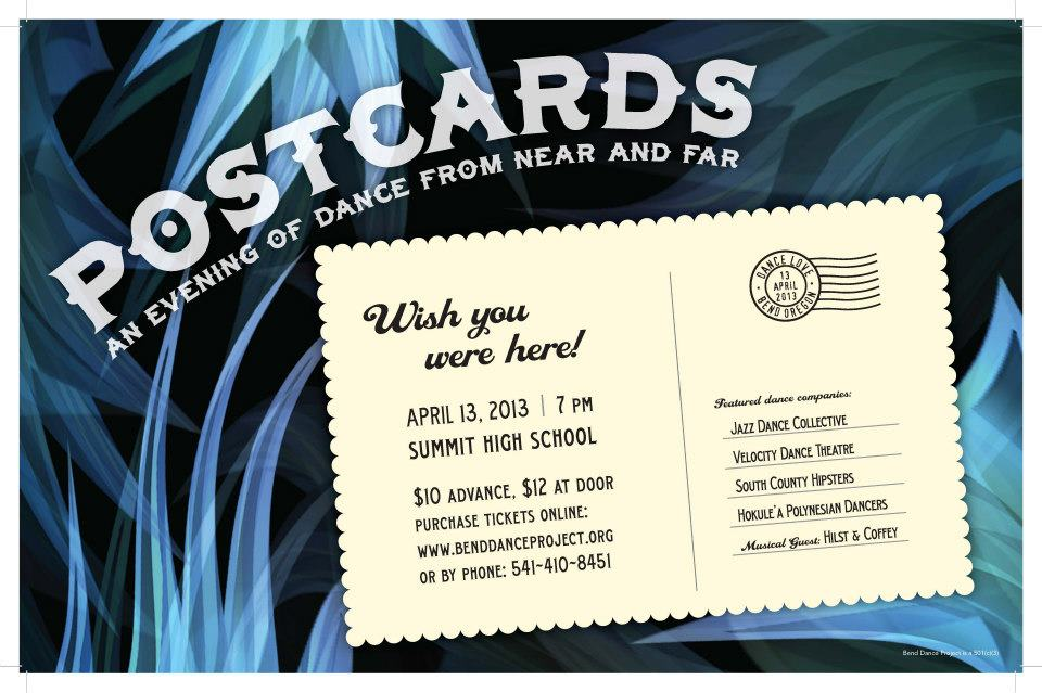 Postcards Dance/Music Performance – Buy Your Tickets Online TODAY!
